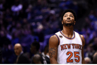 New York officials and associates reportedly don't know why Derrick Rose didn't show up to tonight's Knicks-Pelicans game and are currently unsure of his whereabouts. [Link in bio]: 25 New York officials and associates reportedly don't know why Derrick Rose didn't show up to tonight's Knicks-Pelicans game and are currently unsure of his whereabouts. [Link in bio]