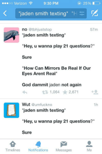 how do you play 21 questions texting