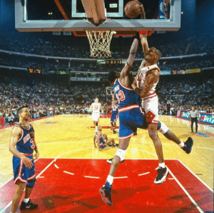 25 years ago today, @ScottiePippen posterized Patrick Ewing!  Is this the most disrespectful dunk ever? https://t.co/CIRrfg5IJ6 https://t.co/HV3yMekccv: 25 years ago today, @ScottiePippen posterized Patrick Ewing!  Is this the most disrespectful dunk ever? https://t.co/CIRrfg5IJ6 https://t.co/HV3yMekccv