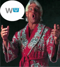 Ric Flair's new catchphrase.: WU  TM Ric Flair's new catchphrase.