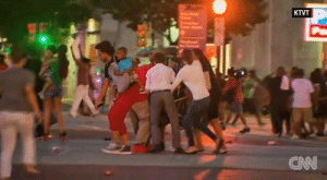 Target, Tumblr, and Angels: 27  KTVT  CAN ithelpstodream:  In the middle of the horror, in the wake of nightmare, amid the outrage and the call to arms is this moment of humanity: People, black and white, surrounded a baby stroller in Dallas as the gunfire broke out. This is the better nature of our angels. This is who we are and who we should strive to be.