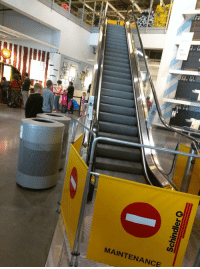 """Target, Tumblr, and Blog: 279  249  MAINTENANCE <p><a href=""""http://diary-of-a-chinese-kid.com/post/158521247112/why-not-just-install-stairs-if-the-escalator-is"""" class=""""tumblr_blog"""" target=""""_blank"""">diary-of-a-chinese-kid</a>:</p><blockquote><p>Why not just install stairs if the escalator is always broken?</p></blockquote>"""