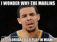 There's no such thing as a stupid question ... right? (Lenny Len Len Liriano): I WONDER WHY THE MARLINS  facebook.com/TheMLBMemes  ALEFTFLORIDATO GO PLAYIN MIAMI? There's no such thing as a stupid question ... right? (Lenny Len Len Liriano)
