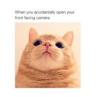 Camera: When you accidentally open your  front facing camera