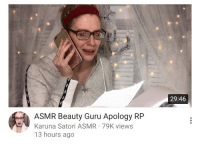 Target, Tumblr, and Blog: 29:46  ASMR Beauty Guru Apology RFP  Karuna Satori ASMR 79K views  13 hours ago tinyrats: tinyrats: HHHSvndhBdhsuHuegaBBNSNHYYGSVWHSyyYYEYSGNNhhhsbagGHDHWDJAHXJJSLDJSHDJAHDKADHGSAKHDKAHDJADHAHSJQHDJHSNSNNNDNSBDHGVURRRRHRNDGSGDH