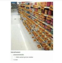 Funny, Memes, and Tumblr: 297  ew!  New New  Nev New New!  Newl  New!  Newl  New!  Newt  New  ewi3  Ne  New!  Neut  Newt  New  New!  Newl  New!  New!  Neiwt  pizzasnachosbutts:  i think walmart got new candles  r u sure I think these are all old candles (Check link in bio!) funnyfriday funnytumblr tumblr funny tumblrtextpost funnytumblrtextpost funny haha humor hilarious