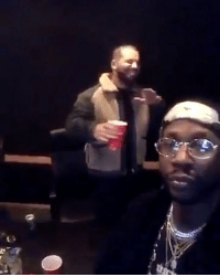 2Chainz and Drake cooking up something in the studio: 2Chainz and Drake cooking up something in the studio