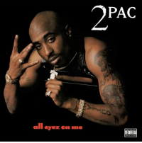 Memes, 🤖, and 2pac: 2PAC  all eyez on me  smit 21 years ago today, the late great 2Pac released his fourth studio album AllEyezOnMe featuring the songs PictureMeRollin, HowDoUWantIt, and CaliforniaLove! What's y'all favorite track off this classic double disc album?! 🔥💯 HipHop History Legend WSHH