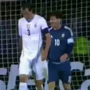 Memes, Messi, and Brilliant: 3  10 RT @FootyHumour: Throwback when Messi and Godin were completely in sync. This is brilliant 🤣 https://t.co/rMVtk0TpBg