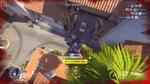Change, Overwatch, and Hero: 3:26 AACK  +25  RE ELIAINATEDBY  H TO CHANGE HERO Overwatch cameraman chooses the perfect killcam angle