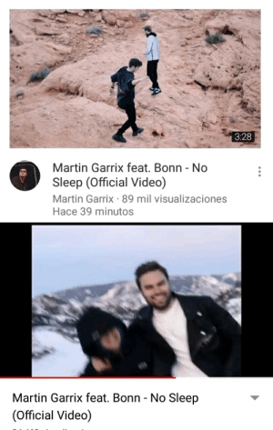 PEWDIEPIE AND TOASTKEN IN MARTIN GARRIX'S VIDEO: 3:28  Martin Garrix feat. Bonn - No  Sleep (Official Vided)  Martin Garrix 89 mil visualizaciones  Hace 39 minutos  Martin Garrix feat. Bonn - No Sleep  (Official Video) PEWDIEPIE AND TOASTKEN IN MARTIN GARRIX'S VIDEO