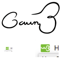 Logo, Signature, and Gavin: 3  3 The W3Schools logo looks like the Gavin Belson signature edition