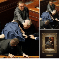 saltycornchip: best-of-memes:  Someone took a candid photo of a fight in Ukranian Parliament that is as well-composed as the best renaissance art  this is currently my favorite thing on the entire internet : 3  5  2 saltycornchip: best-of-memes:  Someone took a candid photo of a fight in Ukranian Parliament that is as well-composed as the best renaissance art  this is currently my favorite thing on the entire internet