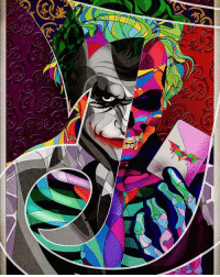 Evening Gothamites! In a bit we'll continue our Barbara Gordon retrospect celebrating her 50th anniversary with DC Comics! Until then, please enjoy this Heath Ledger Joker Skull Candy artwork by illustrator Omar Molina! To see more of their Batman and other works, please visit their website at Behance.net-OmarRMolina! Thanks for following and we'll have more History of the Batman soon! ✌🏼️💚💜🃏📽🎨: 3 Evening Gothamites! In a bit we'll continue our Barbara Gordon retrospect celebrating her 50th anniversary with DC Comics! Until then, please enjoy this Heath Ledger Joker Skull Candy artwork by illustrator Omar Molina! To see more of their Batman and other works, please visit their website at Behance.net-OmarRMolina! Thanks for following and we'll have more History of the Batman soon! ✌🏼️💚💜🃏📽🎨