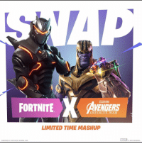 Memes, Avengers, and Games: 3  FORTNITE AVENGERS  INFINITY WAR  LIMITED TIME MASHUP  MARVEL2018 MARVEL.  FORT NITE © 2018 EPIC GAMES, INC. Thoughts?🤔