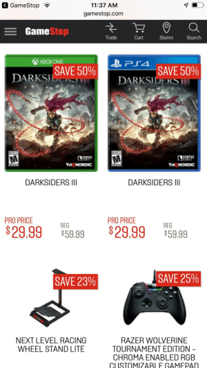 DARKSIDERS III APOCALYPSE EDITION $400 LYSE EDI ARKSIDE THAT'S MINE
