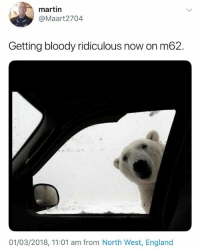 @studentproblems always makes me laugh. FOLLOW THEM🙌🏽: 3  martin  @Maart2704  Getting bloody ridiculous now on m62.  2  01/03/2018, 11:01 am from North West, England @studentproblems always makes me laugh. FOLLOW THEM🙌🏽