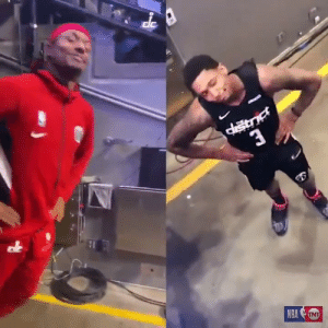 "😂 Bradley Beal did the ""You Suck"" reaction since he was back in Denver!  https://t.co/fm68aU6ioL: 3  NBATNT 😂 Bradley Beal did the ""You Suck"" reaction since he was back in Denver!  https://t.co/fm68aU6ioL"