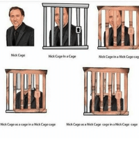 """Http, Nick, and Via: 3  Nick Cage  Nick Cage In a Cage  Nick Cage in a Nick Cage cag  Nick Cageas a cage in a Nick Cage cage  Nick Cage as a Nick Cage cage in a Nick Cage cage <p>Found this in the attic, need appraisal via /r/MemeEconomy <a href=""""http://ift.tt/2q509Hr"""">http://ift.tt/2q509Hr</a></p>"""