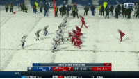 Detroit, Memes, and Nfl: 3  O NFL  90  NEXT SCORE WINS GAME  - IND7 BUF7 0T 1:40 12 3RD & 4  13-9)  -9)  16-6)  -6,  NFL  DETROIT 17-  , TAMPA BAY I -91  21 FINA .@CutOnDime25 in the SNOW... Unstoppable.  @BuffaloBills WIN! #GoBills https://t.co/WnNmeYQXXc