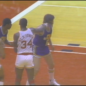 Memes, Utah, and Hakeem Olajuwon: 3 Rookie Hakeem Olajuwon slaps Utah Jazz center Billy Paultz. Just an ordinary playoff action from 1985... https://t.co/Gt2eyKB1rb