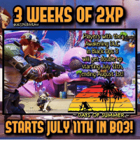 3 weeks of 2XP😍 I'm going for 1000!🔥- 👥tag a friend👥 ❤️5000 likes?❤️ follow🤖 ⬆️check out the link in my bio⬆️ 🔔turn on post notifications🔔 CoD SledgehammerGames BlackOps3 WorldWar2 Treyarch MWR callofduty InfiniteWarfare MWRemastered ZombiesChronicles Zombies CallofDutyIW InfinityWard PS4 PlayStation WWII xbox XboxOne BF1 BO3 CoD4 Gamer SHGames ModernWarfare Activision Sledgehammer CODWWII Game Gaming CoDReturns: 3 WEEKS OF 2KP  JESPERGRAN  Plavers with the  Awakening DLC  XP  rt  ending Augustlst!  STARTS JULV ITH IN  BO3! 3 weeks of 2XP😍 I'm going for 1000!🔥- 👥tag a friend👥 ❤️5000 likes?❤️ follow🤖 ⬆️check out the link in my bio⬆️ 🔔turn on post notifications🔔 CoD SledgehammerGames BlackOps3 WorldWar2 Treyarch MWR callofduty InfiniteWarfare MWRemastered ZombiesChronicles Zombies CallofDutyIW InfinityWard PS4 PlayStation WWII xbox XboxOne BF1 BO3 CoD4 Gamer SHGames ModernWarfare Activision Sledgehammer CODWWII Game Gaming CoDReturns