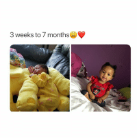 Precious, Girl Memes, and How: 3 weeks to 7 months LOOK HOW SHES SITTING.. SO PRECIOUS IM ABOUT TO HAVE A KID