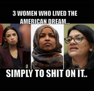 the american dream: 3 WOMEN WHO LIVED THE  AMERICAN DREAM  SIMPLY TO SHIT ON IT..