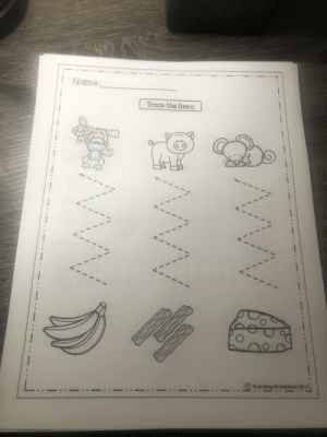 3 year old drawing activity. One of these things is not like the other.: 3 year old drawing activity. One of these things is not like the other.