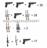 Memes, 🤖, and Asvab: 30  18  MILITARY BADASSERY Let's see who the ASVAB waivers are 🤔 @gunsbadassery - - - areyousmarterthana5thgrader crayoneaters
