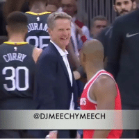 This is what happened between CP3 and Steve Kerr this season 💀😂😂👀 - Follow @_nbamemes._ - via @djmeechymeech: 30  A$T5  @DJMEECHYMEECH This is what happened between CP3 and Steve Kerr this season 💀😂😂👀 - Follow @_nbamemes._ - via @djmeechymeech