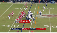 Memes, Nfl, and Cbs: 30  AALO NFL  AFC CHAMP  32  3rd &  NE 17 Сокс 7 3RD 1:22 5 3RD &2 .@PatrickMahomes5 making the sidearm throw his trademark 🎯 #LetsRoll  📺: #NEvsKC on CBS https://t.co/tDP4Dkj1kv