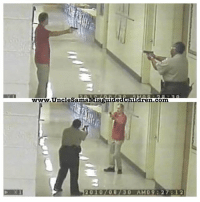 We need more deputies like Deputy Carolyn Gudger.. When an armed man entered the school where she worked as a resource officer, she engaged him and stood toe to toe to PROTECT her babies. Mind you, she wasn't even wearing her bullet proof vest! The suspect was eventually shot and killed, but you never heard about it. Now in Florida, you had 4 Deputies outside the school, and all 4 were afraid to fight?: 30  www.UncleSamsMisguide  dren.com  2010708730 AM09 27:12 We need more deputies like Deputy Carolyn Gudger.. When an armed man entered the school where she worked as a resource officer, she engaged him and stood toe to toe to PROTECT her babies. Mind you, she wasn't even wearing her bullet proof vest! The suspect was eventually shot and killed, but you never heard about it. Now in Florida, you had 4 Deputies outside the school, and all 4 were afraid to fight?