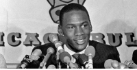 Chicago Bulls, Memes, and Michael Jordan: 30 years ago today the legend that is Michael Jordan signed a contract with the Chicago Bulls. The Rest is history.