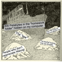 """<p>The problems of the bourgeoisie&hellip; via /r/MemeEconomy <a href=""""https://ift.tt/2HuRWG0"""">https://ift.tt/2HuRWG0</a></p>: 300 Petabytes in the """"homework  folder"""" hidden on my computer  The law  The FBl trying to  find out where I live  The teacher looking  over my shoulder  People who don  People who don't  appreciate Waluigi <p>The problems of the bourgeoisie&hellip; via /r/MemeEconomy <a href=""""https://ift.tt/2HuRWG0"""">https://ift.tt/2HuRWG0</a></p>"""