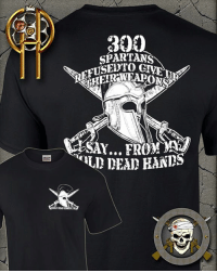 Memes, Help, and Http: 300  SPARTANS  D DEAD HANDS  DEAD What did they say when they were told to surrender their weapons? Come and take them. We Are The 300. Are you? -- Help CDH & Get a 300 Spartans tee, http://goo.gl/Ixebya