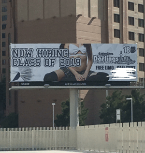 Las Vegas, Free, and Las Vegas: 31  13  18F  Parlings  NOW HIRING  CLASS OF 2019  TOTALLY NUD  FREE LIMO-nET  aCLEARCHANN  55902 Seen in Las Vegas. r/boringdystopia