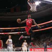 Terrence Ross with the WINDMILL dunk 😳: 31  ADUNKFILM  14  Coatings Built for rmanc Terrence Ross with the WINDMILL dunk 😳