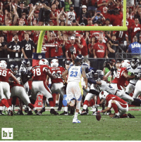 Sports, Team, and Useful: 32 21  LOHEE  br  ARDINAIS  BREWER  23 Both teams could have used this kicker