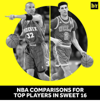"""""""He can dominate a game without scoring."""" Lonzo's game resembles a former NBA star (link in bio): 32  UNB  NBA COMPARISONS FOR  TOP PLAYERS IN SWEET 16  b/r """"He can dominate a game without scoring."""" Lonzo's game resembles a former NBA star (link in bio)"""