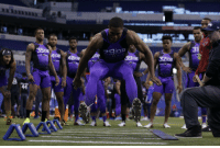 """.@Byron31Jump broad-jumped 12'3"""" three years ago at the #NFLCombine.  This is not a typo. ☝   But it did happen to be a WORLD RECORD. #FBF https://t.co/aMBqQk9bsu: 320B  390B .@Byron31Jump broad-jumped 12'3"""" three years ago at the #NFLCombine.  This is not a typo. ☝   But it did happen to be a WORLD RECORD. #FBF https://t.co/aMBqQk9bsu"""