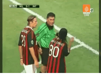 When you realise you pulled out a red card on Ronaldinho. https://t.co/DaLjQYW7KQ: 33 16 MIL 0-1 INT  Live When you realise you pulled out a red card on Ronaldinho. https://t.co/DaLjQYW7KQ
