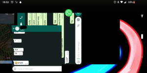 WhatsApp's a bit broken: 33%  O  18:53  Eive 8:52  18:52  A  But 18:53  Ok 18:53  24:31  alright  Type a message  really 18:49  wont 18:49  ckest way  motto 18:49  Yep 18:52  cuse to have  18:52  aigeaudde suuaum  Live* 18:52  No 18:52  Type a message WhatsApp's a bit broken