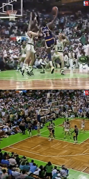 33 years ago today, Magic Johnson's clutch junior skyhook in GM4 of the 87 Finals!   Do you think more players should use this move?   https://t.co/RiJdHBte7l: 33 years ago today, Magic Johnson's clutch junior skyhook in GM4 of the 87 Finals!   Do you think more players should use this move?   https://t.co/RiJdHBte7l