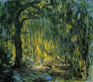 Tumblr, Blog, and Search: 34 claudemonet-art:    Weeping Willow  1919  Claude Monet