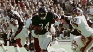 Walter Payton would've been 65 today.   Happy birthday, Sweetness. 👟👟 (via @NFLThrowback) #NFL100 https://t.co/eKGF3L8Eeh: 34 Walter Payton would've been 65 today.   Happy birthday, Sweetness. 👟👟 (via @NFLThrowback) #NFL100 https://t.co/eKGF3L8Eeh