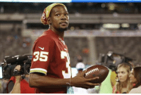 """Kevin Durant, Nfl, and Washington Redskins: 35 A Kevin Durant wants to own an NFL team one day. What one? """"My first priority would be the Washington Redskins."""" 👀🔥"""