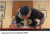 Memes, Pepsi, and Awesome: 359 442  Enjoying A 20 Year Old CRYSTAL PEPSI awesome 24+ Memes That Are Just Terrific