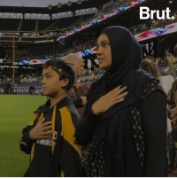 Baseball, Memes, and Muslim: 37  Brut.  ADELTA Ad America's Pastime is for ALL Americans — and Muslim Americans were celebrated with their own night at this Major League Baseball game. ⚾☪️