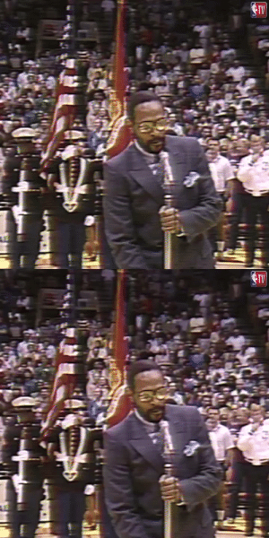 37 years ago today, the late great Marvin Gaye performed arguably the best ever rendition of 'The Star-Spangled Banner' before the 1983 #NBAAllStar game at The Forum!    https://t.co/ojchjpQ8q6: 37 years ago today, the late great Marvin Gaye performed arguably the best ever rendition of 'The Star-Spangled Banner' before the 1983 #NBAAllStar game at The Forum!    https://t.co/ojchjpQ8q6